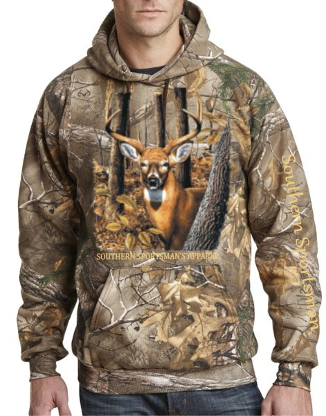 Woodlands Buck Hoodie (4 Colors Available)