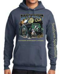 Boys Night Out Coon Hunting Design Slate ( Short Sleeve, Long Sleeve, & Hoodie)