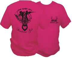 Southern Girl One Shot Kill Short Sleeve T-shirt ( 10 Different Colors )
