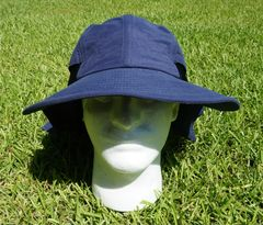 Nautical Logo Ultimate Outdoor Sportsman's Hat with UV 50 + UV Protection. 4 Colors Available. Page 1 of 2