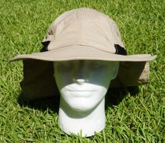 Nautical Logo Ultimate Outdoor Sportsman's Hat with UV 50 + UV Protection. 4 Colors Available. Page 2 of 2
