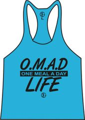 OMAD Life Stringer Tank Top ( 5 Dif. Colors. One meal a day life.