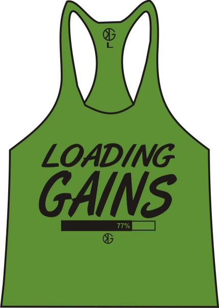 Loading Gains Stringer Tank Tops ( 5 Dif. Colors )