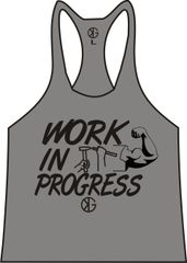 Work In Progress Stringer Tank Tops ( 5 Dif. Colors )
