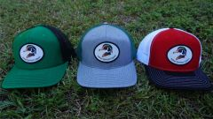 Wood Duck Head Patch Hats in 28 Different Colors. Southern Sportsman's Apparel