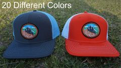 "Tractor Patch Hats ""The Backbone of America"" in 20 Different Colors. Southern Sportsman's Apparel"