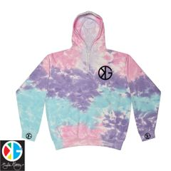 Cotton Candy KG Tie Dye Hoodie by Kyle Gainey Clothing Company