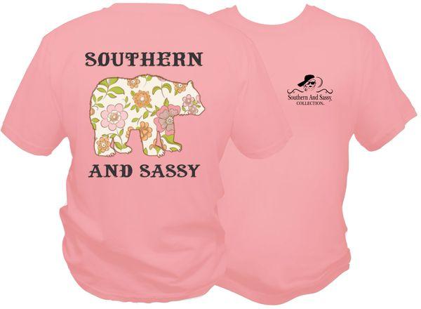 Floral Bear - Light Pink Youth short sleeve & long sleeve t shirt - Flower Bear