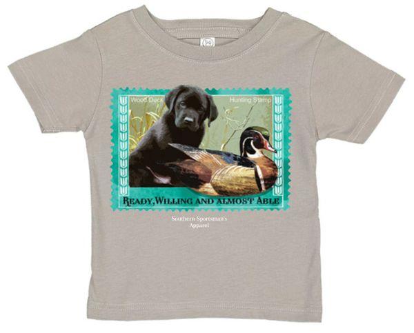 Black Labrador Stamp ( Toddler and Infant )