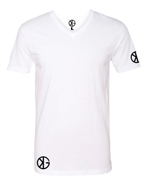 Premium Sueded Fitted V Neck KG Clothing Co.