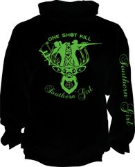Southern Girl One Shot Kill Hoodie (9 Different Colors)