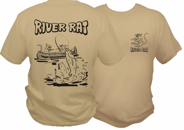 River Rat Short Sleeve T-shirt ( 9 Different Colors )