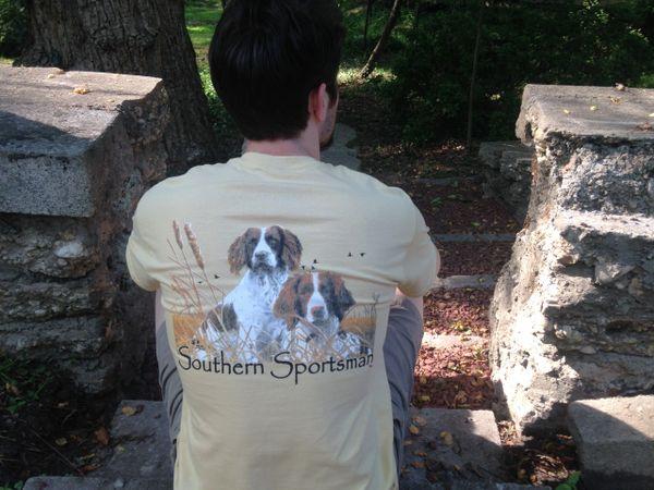 Springer Spaniel Vegas Gold Short Sleeve T - Southern Sportsman's Apparel