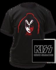 KISS Gene Simmons Black Short Sleeve Adult T-shirt