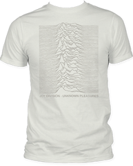 Joy Division Tone on Tone White Short Sleeve Adult T-shirt