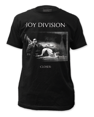 Joy Division Closer 2 Black Short Sleeve Adult T-shirt