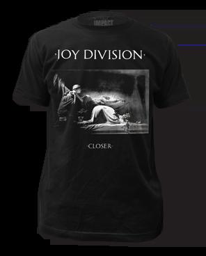 Joy Division Closer 2 Black Short Sleeve Adult T-shirt
