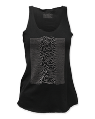 Joy Division Unknown Pleasures Black Women's Tank Top T-shirt