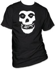 The Misfits Fiend Skull Black Short Sleeve Adult T-shirt