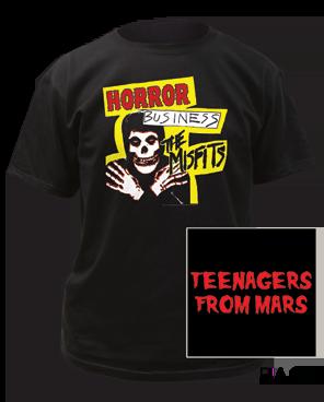 The Misfits Horror Business Black Short Sleeve Adult T-shirt