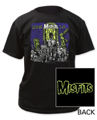 The Misfits Earth AD Black Short Sleeve Adult T-shirt