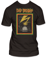 Bad Brains Capitol Distressed Adult T-shirt