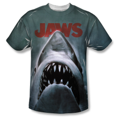 Jaws Poster Sublimation T-shirt