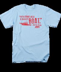 Jaws A Bigger Boat T-shirt