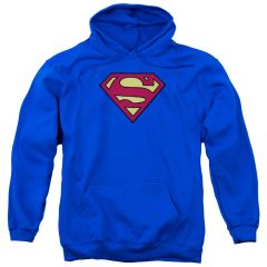 Superman Chenille Patch Pull-Over Hoodie