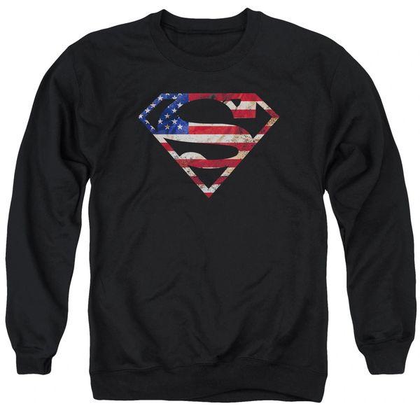 Superman Super Patriot Crewneck Sweatshirt