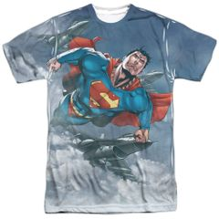 Superman In the Sky T-shirt