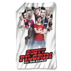 Scott Pilgrim vs The World Fleece Blanket