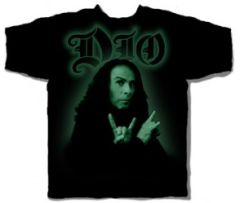 DIO Ronnie James Dio Photo T-Shirt