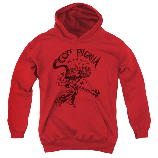 Scott Pilgrim vs The World Rockin Youth Pull-Over Hoodie