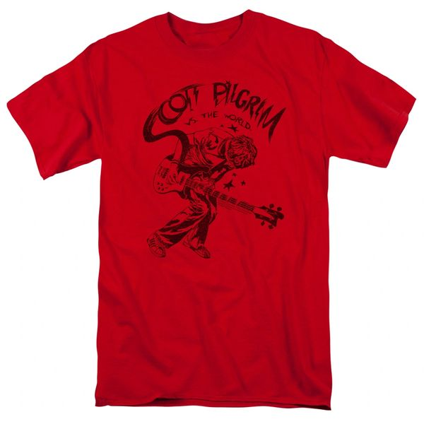 Scott Pilgrim vs The World Rockin T-shirt