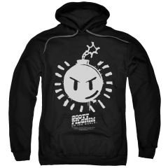 Scott Pilgrim vs The World Sex Bomb OMB Logo Pull-Over Hoodie