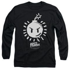 Scott Pilgrim vs The World Sex Bomb OMB Logo Long Sleeve T-shirt