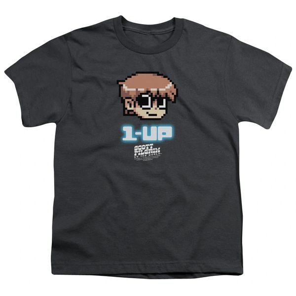 Scott Pilgrim vs The World 1 up Youth T-shirt
