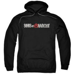 Sons of Anarchy Beat Up Logo Pull-Over Hoodie
