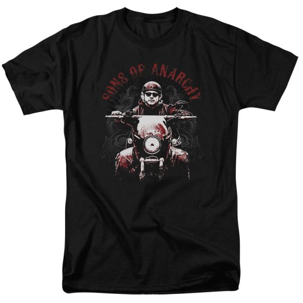 Sons of Anarchy Ride On Black Short Sleeve Adult T-shirt
