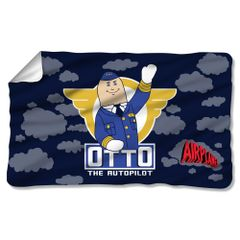 Airplane Otto Fleece Blanket
