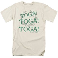 Animal House Toga Time Cream Adult T-shirt
