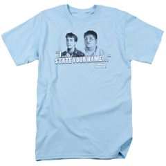 Animal House Pledges Light Blue Adult T-shirt