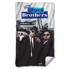 The Blues Brothers Poster Fleece Blanket