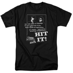 The Blues Brothers Hit It T-shirt