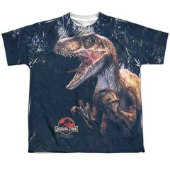 Jurassic Park Raptors Youth T-shirt