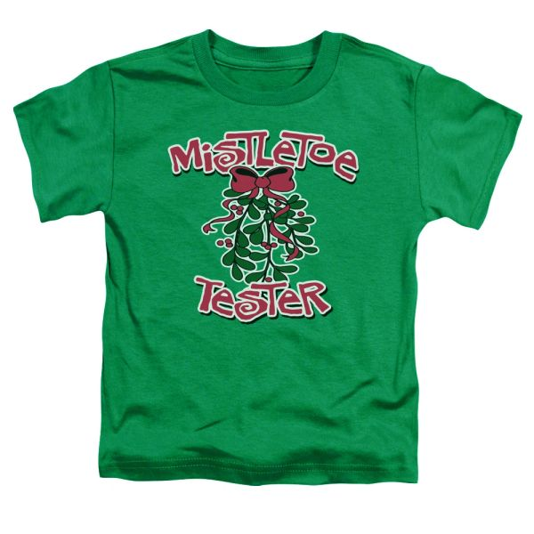 Christmas Mistletoe Tester Toddler T-shirt