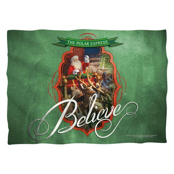 Christmas Polar Express Santa Pillow Case FB Print