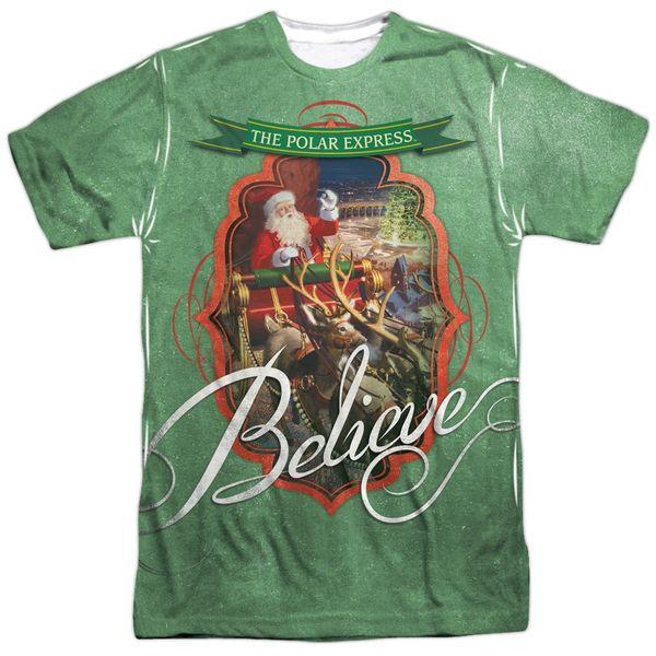 Christmas Polar Express Santa T-shirt
