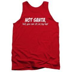 Christmas Not Santa Tank Top T-shirt